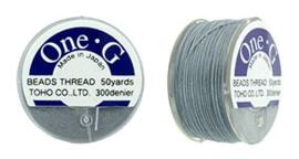PT-50-03 TOHO One-G Thread 50 Yard Gray, per rol van 45 meter