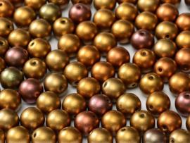RB6-01620 rond 6mm Ancient Gold, per 30 stuks
