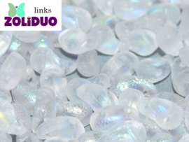 ZDL-00030/28781 Zoliduo® Links: Crystal Etched AB, per 25 stuks