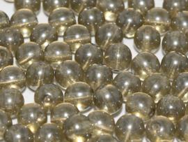 RB6-40010/14400 rond 6mm Black Diamond Shimmer, per 30 stuks