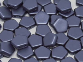 Pego Bead 10 mm Alabaster Pastel Petrol, per 5 stuks