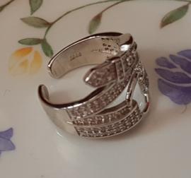 Ring, Riem met Gesp, verstelbaar, per stuk