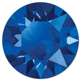 Swarovski #1088 39ss Majestic Blue foiled, per 2 stuks