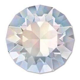 Swarovski #1088 39ss White Opal foiled, per 2 stuks