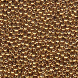 DP4202 Miyuki Drop Duracoat Galvanized Gold, per 10 gram