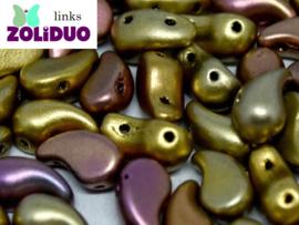 ZDL-01610 Zoliduo® Links: Metallic Mix, per 25 stuks