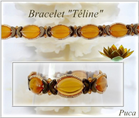 Armband Téline, ontwerp Puca, met o.a. Arcos®