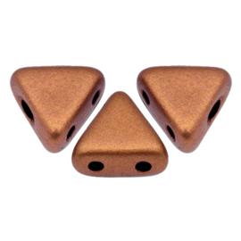 Khéops par Puca® Copper Gold Mat, per 35 stuks