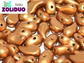 ZDL-01740 Zoliduo® Links: Brass Gold, per 25 stuks