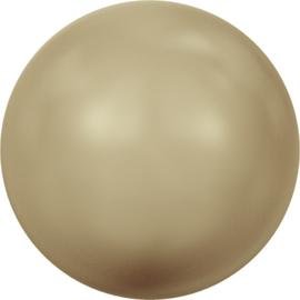 Swarovski #5810 Round Pearl 4mm Vintage Gold, per 20 stuks