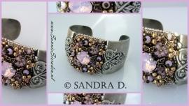 Cuff Pink Opal, Sandra Dokter