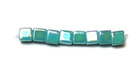 SB0481 Opaque Turquoise Green AB, per 10 gram