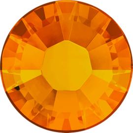 Swarovski #2038/HF XILION Rose Hot Fix 4,7mm/SS20 Tangerine, per 50 stuks