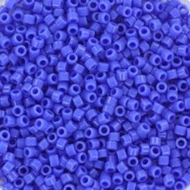 DB-1138 Miyuki Delica's 11/0 Opaque Cyan Blue