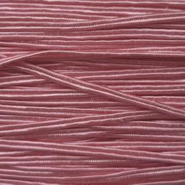 Soutache 3mm 012 Rosy Pink, per meter