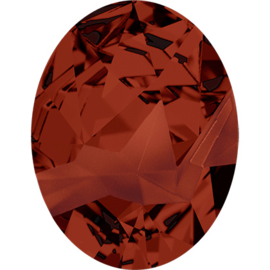 Swarovski #4920  Kaputt Oval JP Gaultier no LOGO 29mm Crystal Red Magma, per stuk