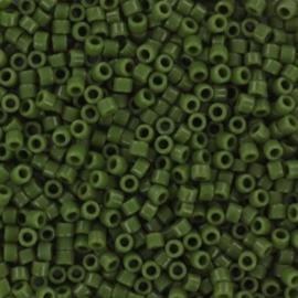 DB1135 Miyuki Delica 11/0 Opaque Avocado, per 5 gram