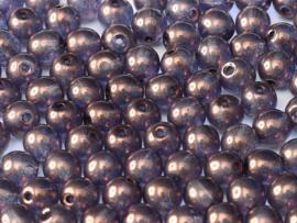 RB6-00030/15726 rond 6mm Crystal Lila Vega Luster, per 30 stuks
