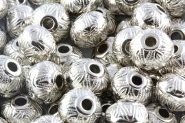 Kraal Y2bd 15x12mm zilverkleurig per 10 stuks