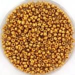 11-4023 Miyukirocailles 11/0 Duracoat Galvanized Yellow Gold, per 10 gram