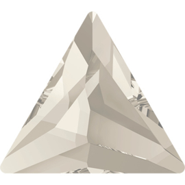 Swarovski #2720 Cosmic Delta Flat Back 7,5mm Silver Shade, per stuk