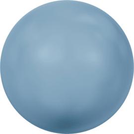 Swarovski #5810 Round Pearl 4mm Turquoise, per 20 stuks