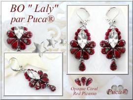 Oorhangers 'Laly', ontwerp Puca, met o.a. Amos®