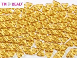 Tri-bead Topaz, per 5 gram (±140 stuks)