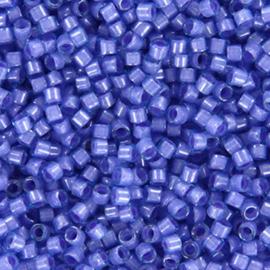 DB2388 Miyuki Delica 11/0 Fancy Lined Lavender, per 5 gram
