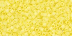 TT01-0142F TOHO Treasure #1 11/0 Ceylon Frosted Banana Creme, per 5 gram