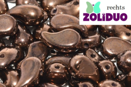 ZDL-00030/14415 Zoliduo® Rechts: Jet Bronze, per 25 stuks