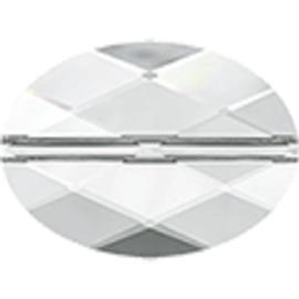Swarovski #5050 Oval Bead 14x10mm Crystal, per stuk
