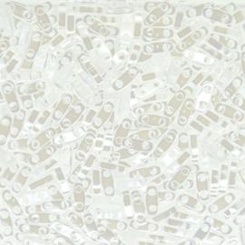 QTL-0420 Quarter Tila Beads White Pearl Ceylon, per 5 gram