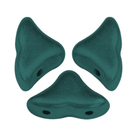 Hélios® par Puca® Metallic Mat Green Turquoise, per 20 stuks