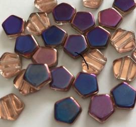 Pego Bead 10 mm Crystal Sliperit, per 5 stuks