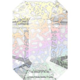 Swarovski #5514 Pendulum Bead 5,5x8mm Crystal White Patina, per stuk