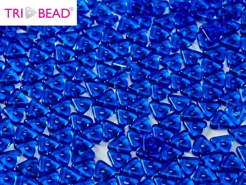 Tri-bead Sapphire, per 5 gram (±140 stuks)