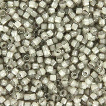 DB2391 Miyuki Delica's 11/0 Fancy Lined Moonstone, per 5 gram