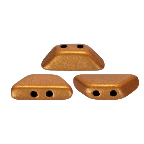 Tinos® par Puca® Bronze Gold Mat, per 25 stuks