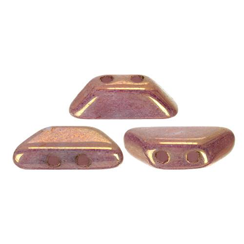 Tinos® par Puca® Opaque Mix Violet/Gold Ceramic Look, per 25 stuks