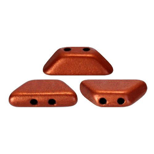 Tinos® par Puca® Bronze Red Mat, per 25 stuks