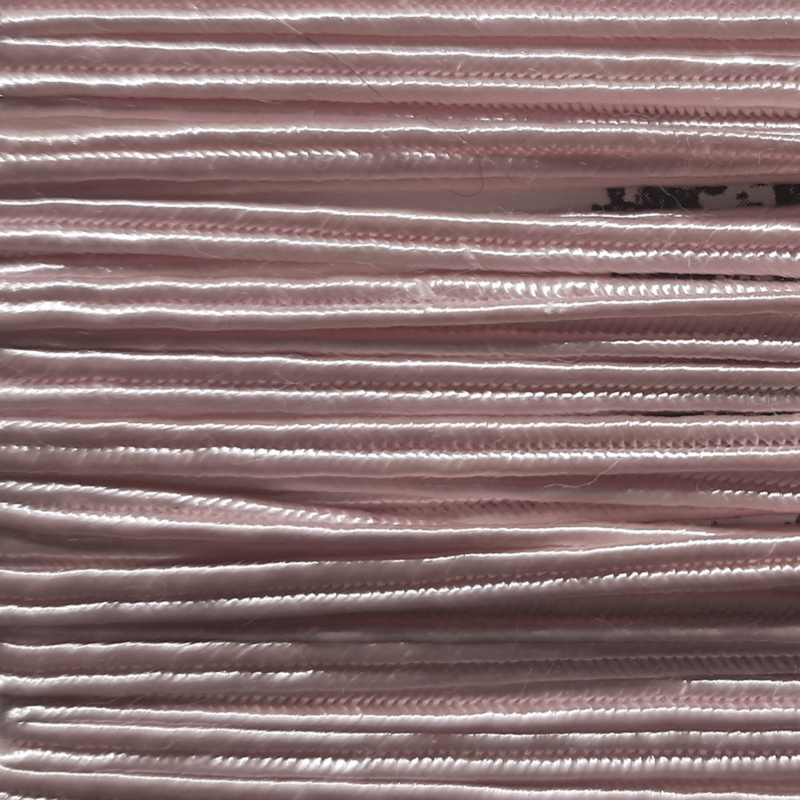 Soutache 3mm 005 Light Pink, per meter
