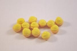 Cupcake creme geel