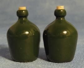 Set kruiken groen