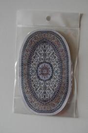 Carpetten klein ovaal