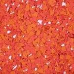 Flock rood tinten