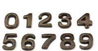 Cijfers brons nr 250b