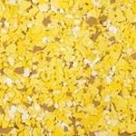 Flock geel tinten