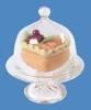 Taart schaal met taart 1