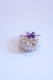 Koekjes  met paarse glazuur